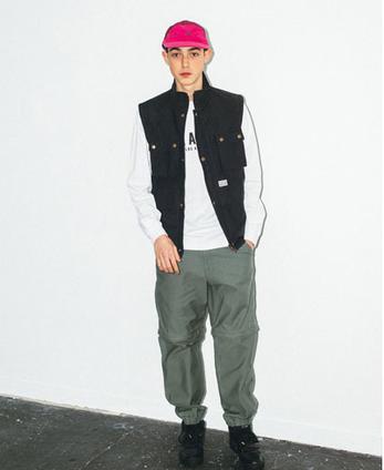 资讯生活美式街头风格XLARGE®2017春夏男装搭配造型